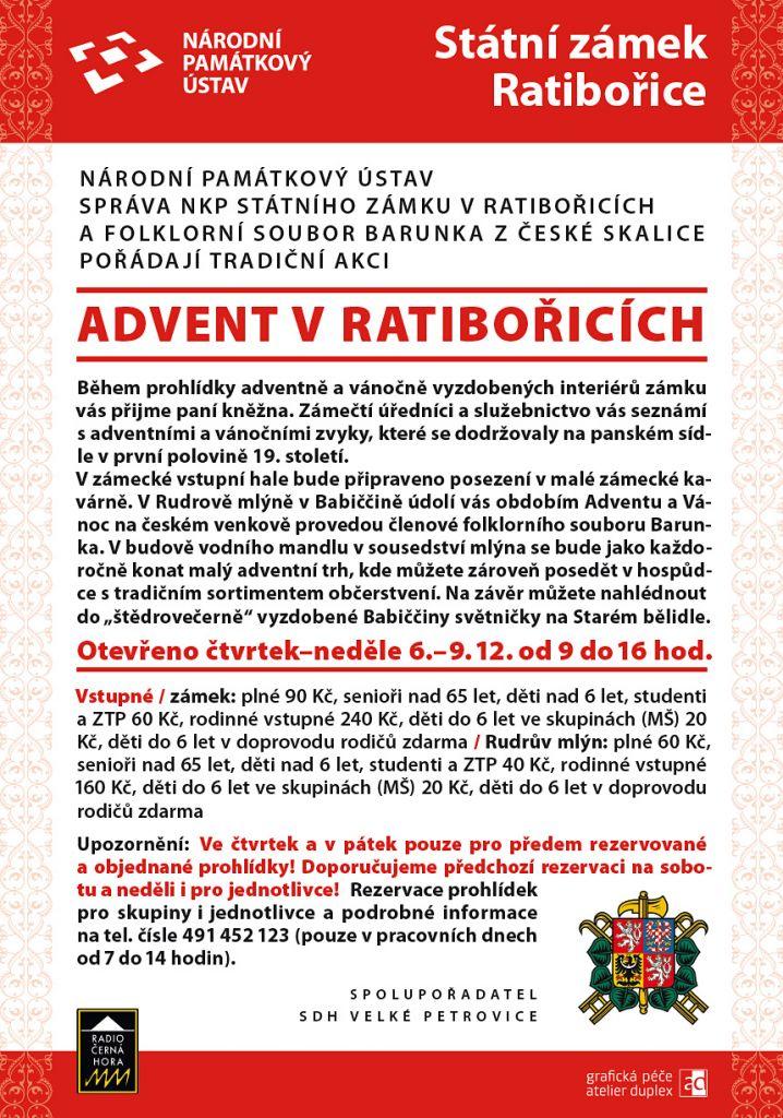 Advent v Ratibořicích