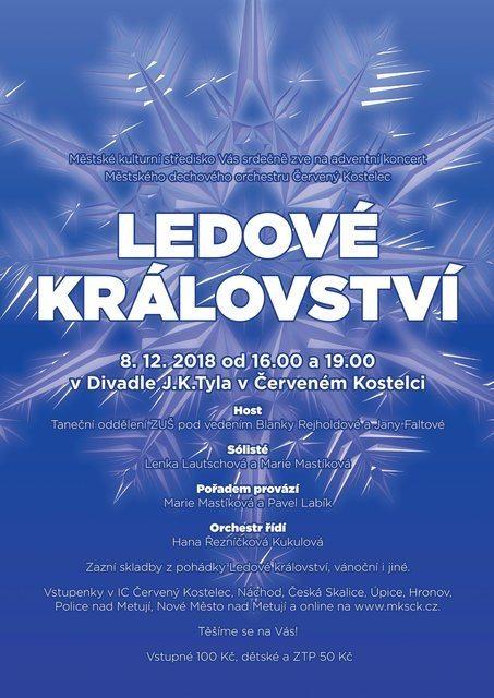 Adventní koncert vČerveném Kostelci