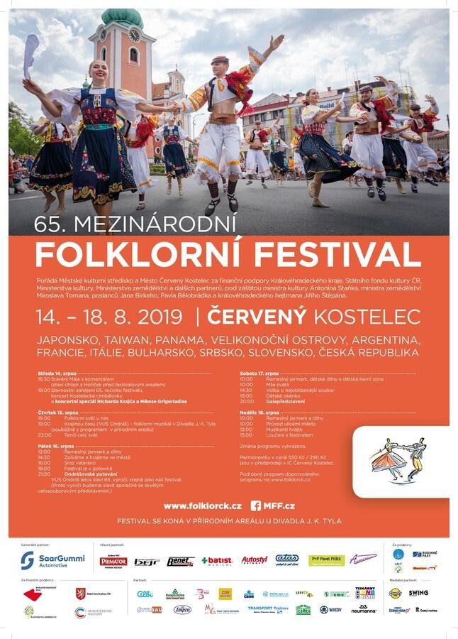 Folklorní festival Červený Kostelec