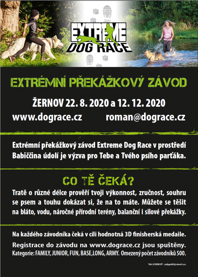 Extreme Dog race Žernov
