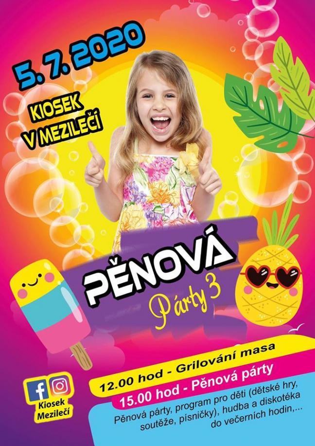 Pěnová party Mezilečí